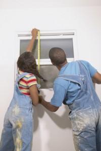 Installing DIY Shutters