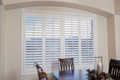 Shutters over blinds